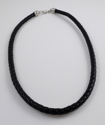 21''(7.5mm) leather cord necklace
