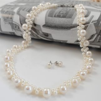 Creamy White Blossom Set