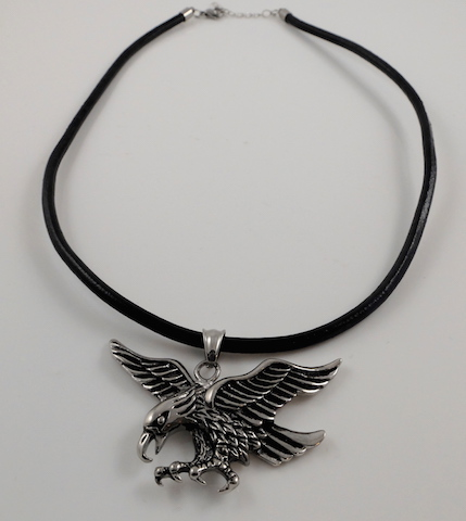 Eagle & Leather Cord