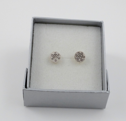 Small silver box & Product