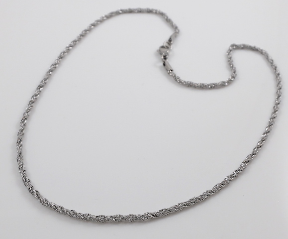 Stainless Steel Wheat Chain 20''