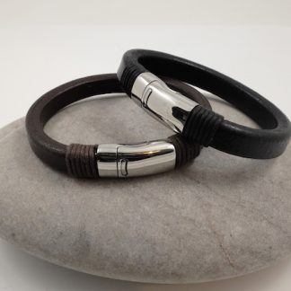 Chunky Leather Bracelets