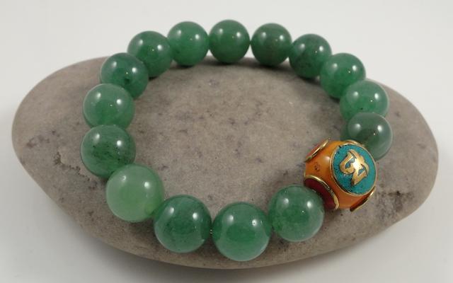 Donglin Jade &Tibetan Amber Bracelet 2