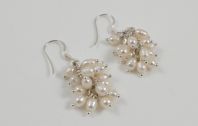 cream seed pearl dangler 2