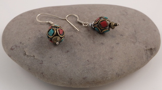 Tibetan earrings 09