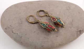 Tibetan earrings 01