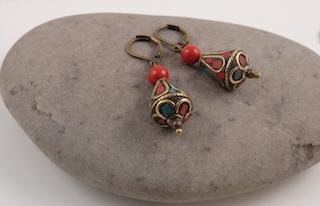 Tibetan earrings 02