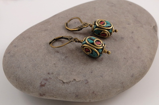 Tibetan earrings 04