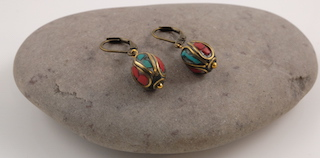 Tibetan earrings 06