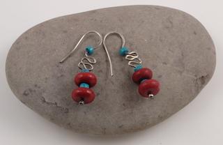 Tibetan earrings 10