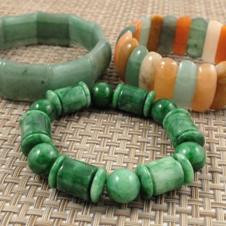 Elastic Jade Bracelet