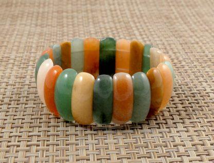 Multi-colour Jade Bracelet
